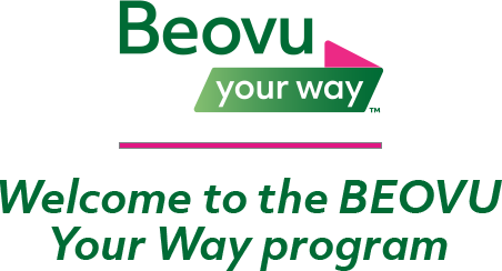 BEOVU Your Way Program logo