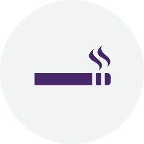 If you smoke then you are at a greater risk of developing wet age-related macular degeneration (AMD).